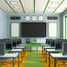 LED benefits in a classroom